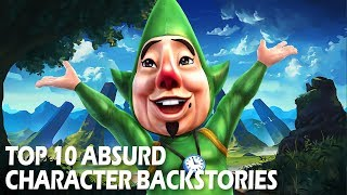 Top 10 Absurd Character Backstories | Video Game Character Lore