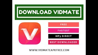 Gambar cover HOW TO DOWNLOAD VIDMATE REAL APP.