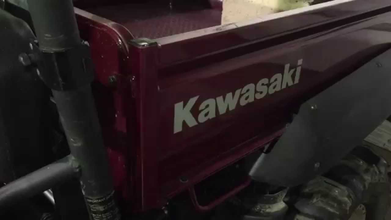 Kawasaki Mule Bed Lift