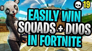 How To EASILY Win More Squads + Duos In Season 5! (Fortnite Battle Royale Squads Tips)