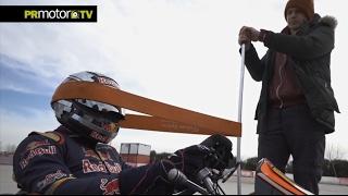 Carlos Sainz F1 como un Toro! Preparacion - Material Completo en PRMotor TV Channel