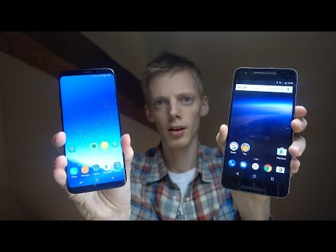 Samsung Galaxy S8 vs. Nexus 6P Android O - Which Is Faster?