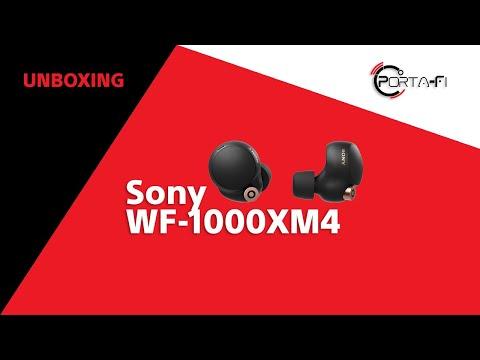 Sony WF-1000XM4 Unboxing | Porta-Fi™