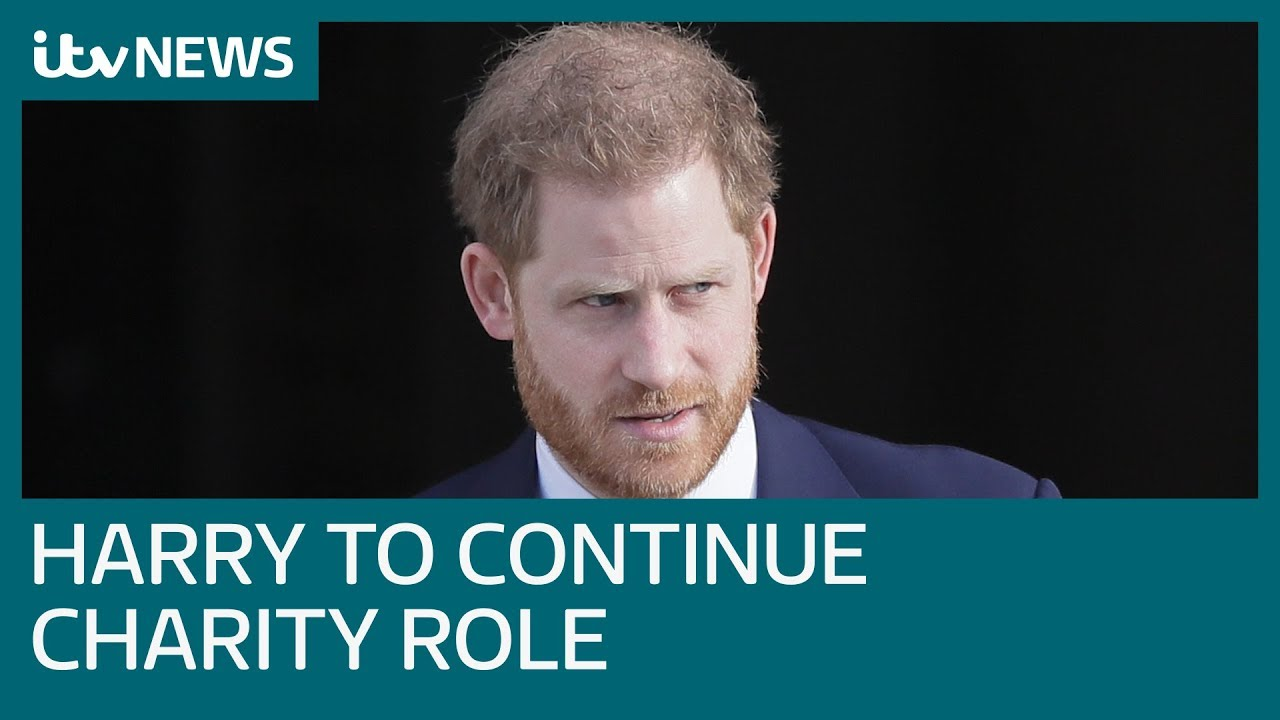 Prince Harry to continue charity role amid royal fallout | ITV News thumbnail
