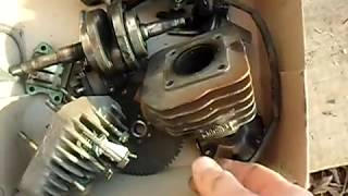 """Скутер""""Honda Dio-27""""ремонт(часть1)."""