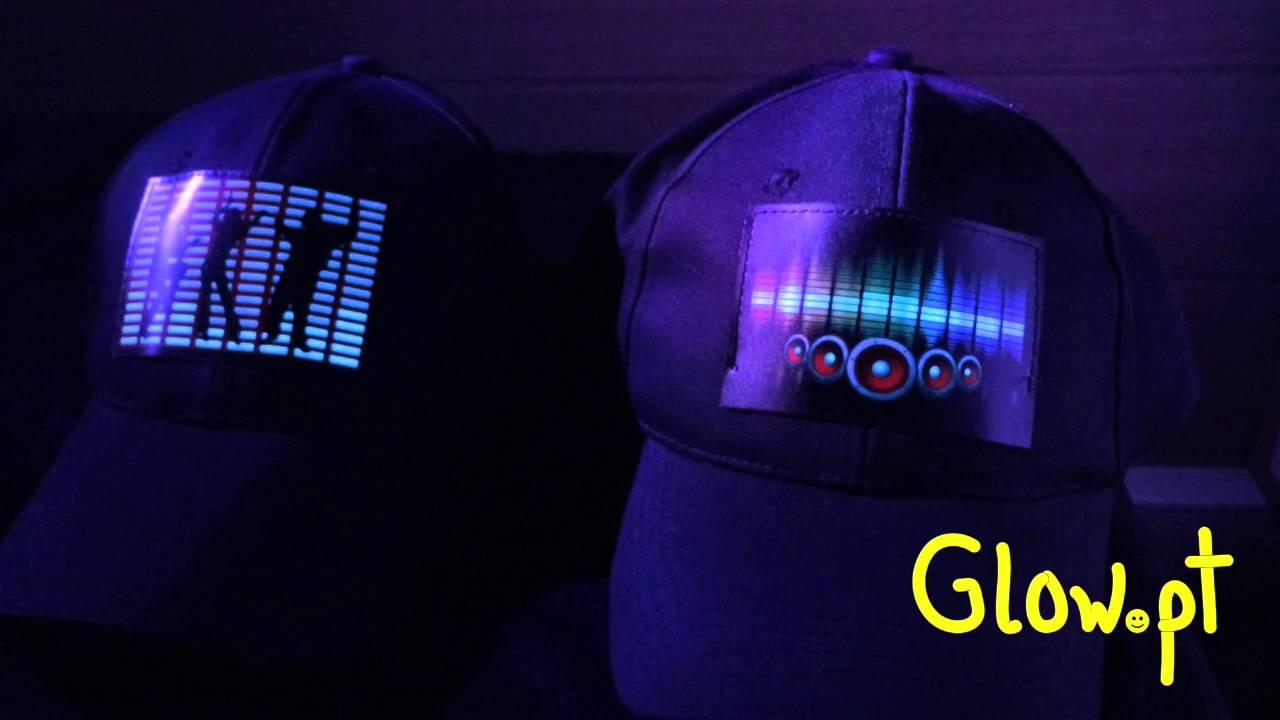 LED cap - YouTube 598ab5f208d9