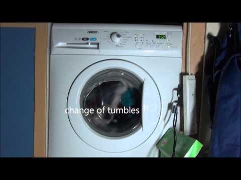 Zanussi ZWHB7160 Washing Machine : Cotton Standard eco 60'c + extra rinse