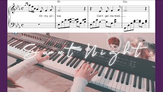 [Itaewon Class OST] BTS V - Sweet Night Piano Cover