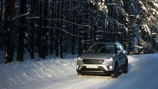 Загнал на полигон тест драйв Hyundai Creta