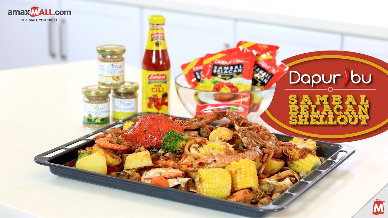 Amaxfood Express Kitchen Dapur Ibu Sambal Belacan Shellout