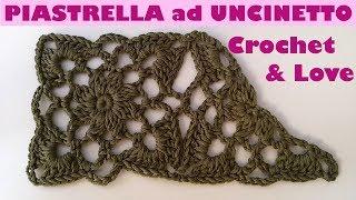 Tutorial Piastrella Ad Uncinetto O Granny Square Crochet E Come
