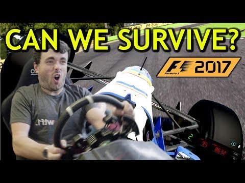 F1 2017 Game Challenge: Can We Survive 100% Force Feedback?