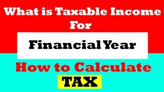 Calculate income TAX in FY 2019 Slab Rates | New Income Tax Calculation | Rebate | 2019-20 Explained