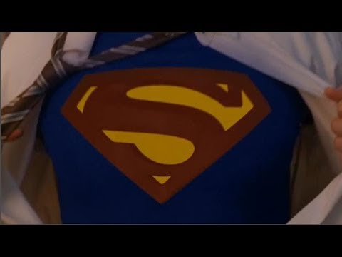 Superman Shirt Rip   Tom Welling, Henry Cavill, Brandon Routh, Tyler Hoechlin