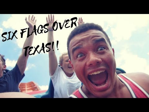 SIX FLAGS OVER TEXAS | THE BEST THEME PARK IN DALLAS | NO QUEUES !
