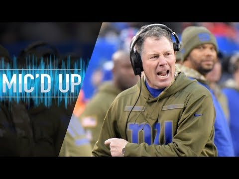 """Pat Shurmur Mic'd Up vs. Buccaneers """"Can you stay on your feet?"""" 