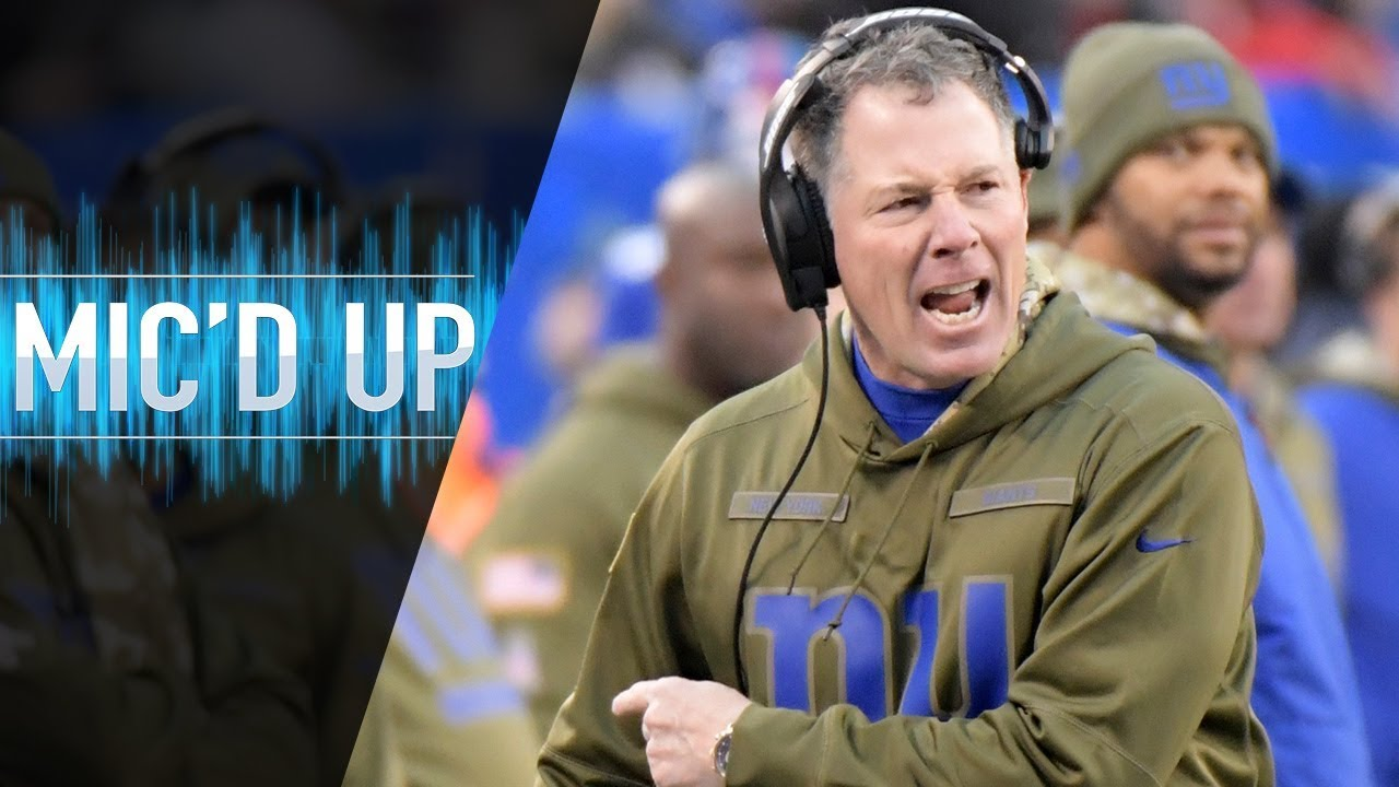"Pat Shurmur Mic'd Up vs. Buccaneers ""Can you stay on your feet?"" 