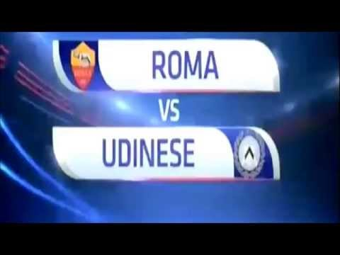 Roma (3) -  Udinese (1) All Goals & Highlights 28 10 2015 Serie A