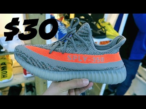 BUYING FAKE YEEZYS FOR $30