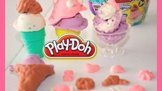 Play-Doh en Espanol| Helados Play-Doh| Plastilina Play- Doh| Mundo de Juguetes