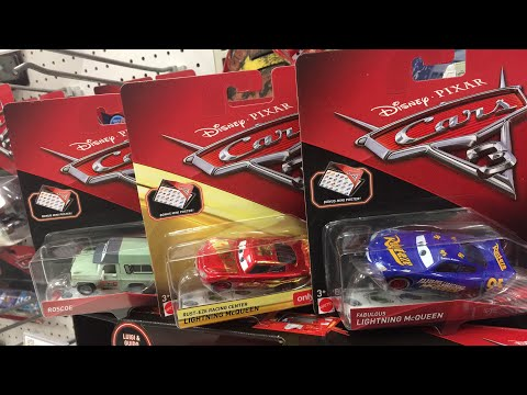 Disney cars 3 toys hunt Thunder Hollow Diecast & Fabulous Lightning McQueen 🔴 Live Toy Hunting