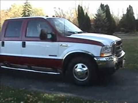 2003 ford f 350 super duty crew cab dually for sale youtube. Black Bedroom Furniture Sets. Home Design Ideas