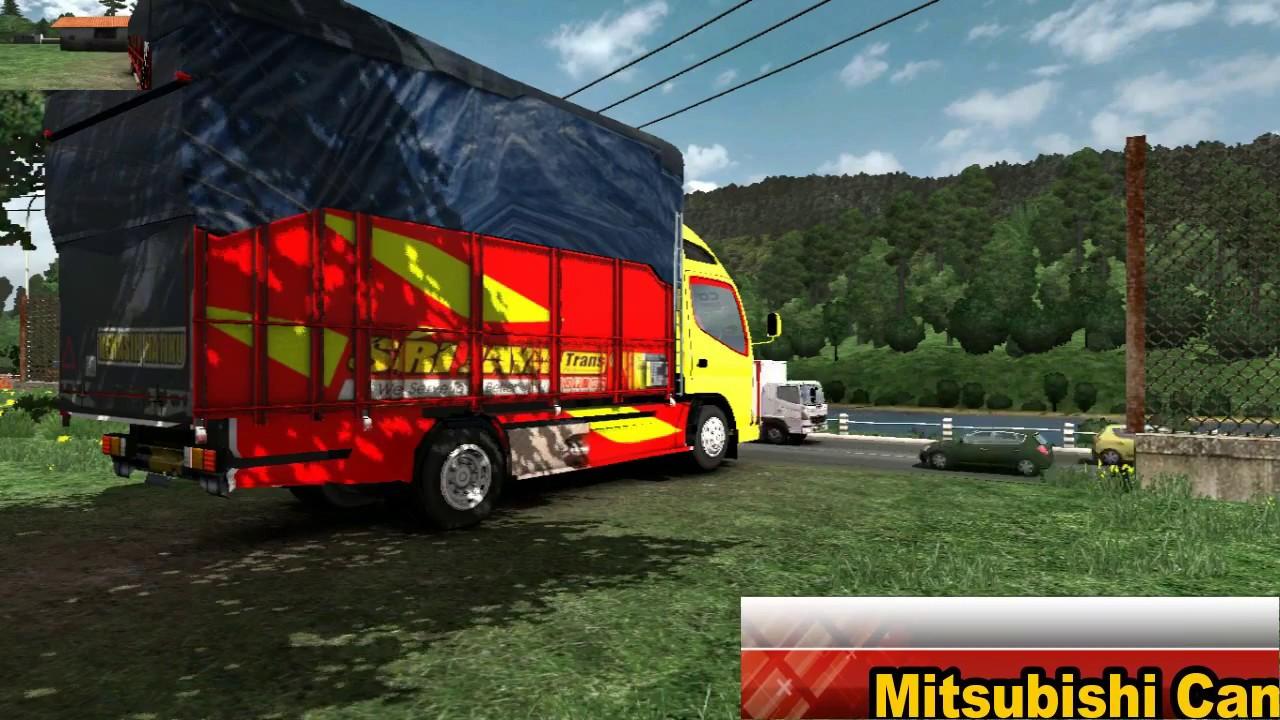 ETS2//Mitsubishi Canter v2_SMT MOD