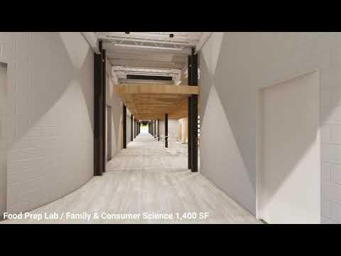 Pea Ridge High School Walkthrough - Entrance