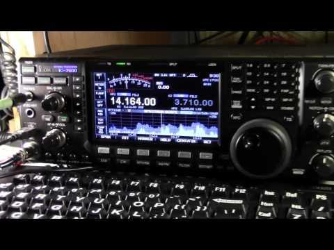 VE4MEC & VE2AZK Field Day Icom IC-7600