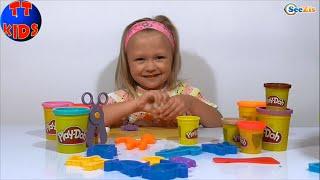 ✔ Плей До. Зоопарк из пластилина от девочки Ярославы / Play Doh Zoo from Yaroslava / Toys for kids ✔