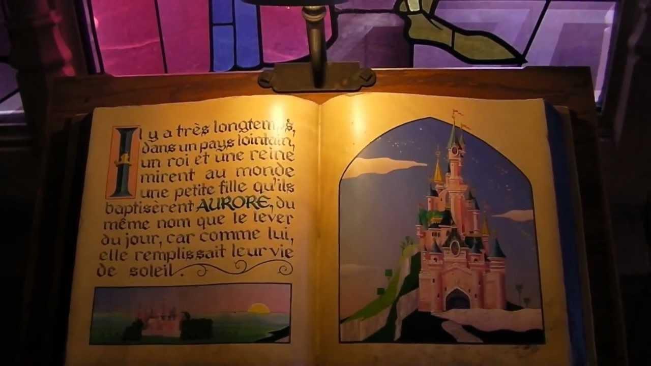 Disneyland paris 2011 le ch teau de la belle au bois dormant sleeping beauty castle youtube - Chateau la belle au bois dormant ...
