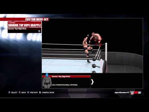 WWE 2K15 Samoa Joe Moveset