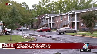 Deadly shooting at a westside apartment complex in Jacksonville