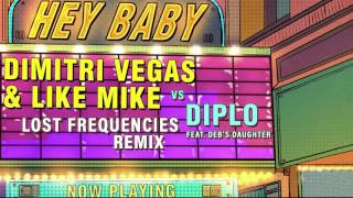Dimitri Vegas & Like Mike vs Diplo - Hey Baby (feat. Deb