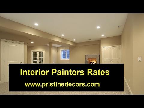 Interior Painters Rates