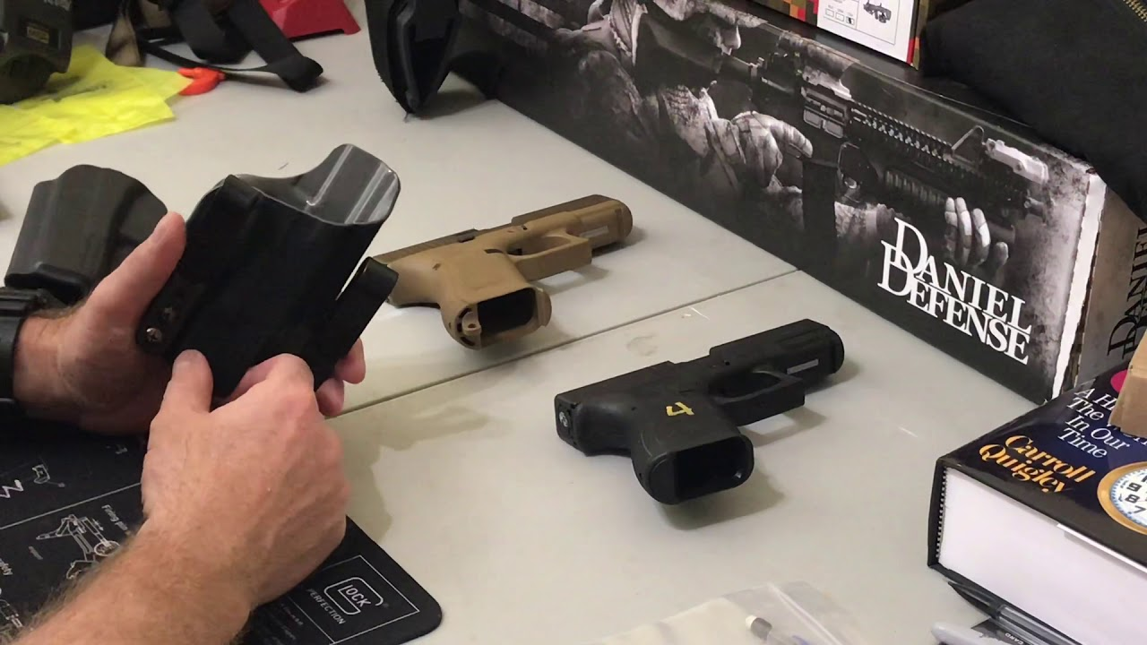 Glock 19X Holster Compatibility