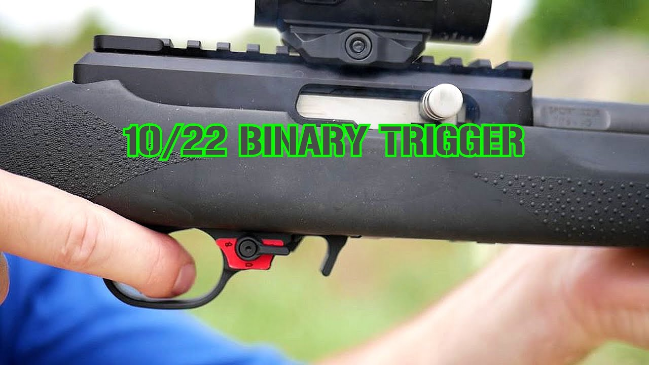 Review: 10/22 Binary Trigger: BSFIII 22-C1 from Franklin Armory