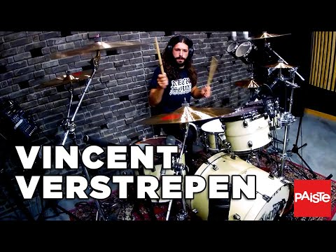 PAISTE CYMBALS - Vincent Verstrepen (Drum playthrough - Carnation - Serpent's Breath)