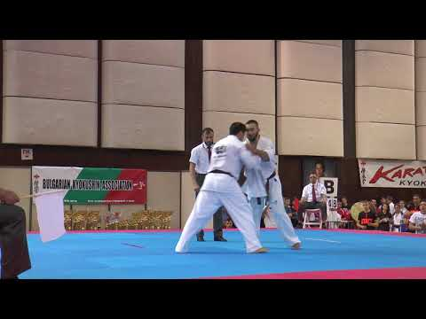 Ashot Zarinyan vs.  Lasha Gabaraev. 32 European Weight Category Karate Championships