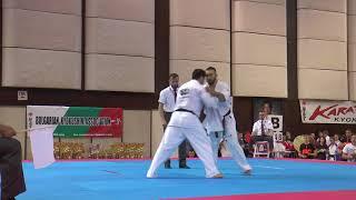 Ashot Zarinyan vs.  Lasha Gabaraev. 32 European Weight Category Karate Championships