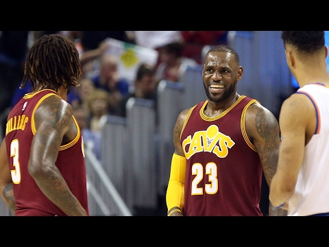 Derrick Williams on LeBron James' illness and playing with the Cavs