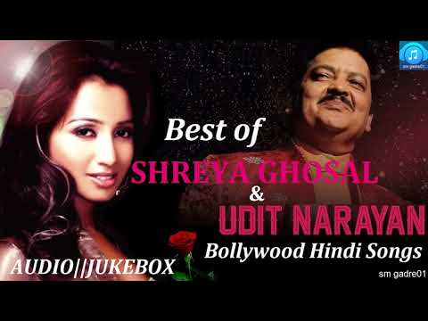 Best of Udit Narayan & shreya Ghoshal Bollywood HindiJukebox Songs