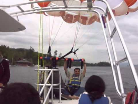 Parasailing over Lake George NY - Parasailing Adventures