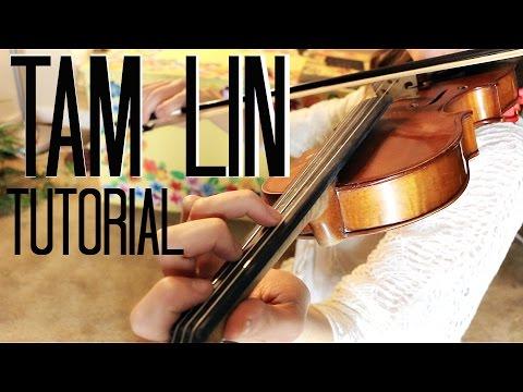 Tam Lin (The Glasgow Reel) - Beginner Fiddle Tutorial!