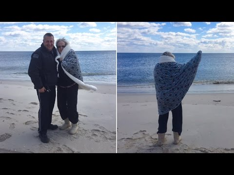 Thumbnail: Police Officer Fulfills Dying Woman's Wish to Walk On Beach One Last Time