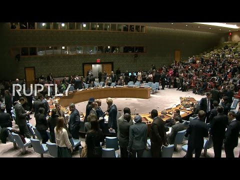 LIVE: UN Security Council holds emergency meeting on US missile strike in Syria