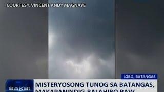 Saksi: PAGASA: Misteryosong tunog na narinig sa Batangas, posibleng gawa ng ibon o alon