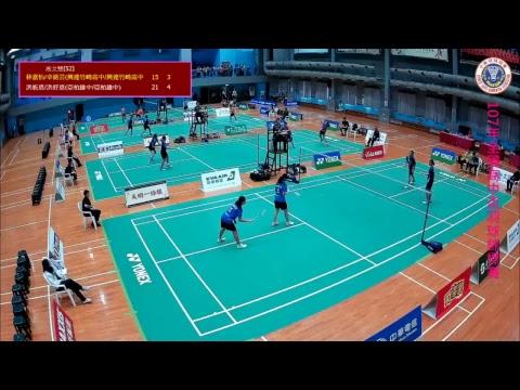 107年全國高中盃羽球錦標賽Day5 - YouTube