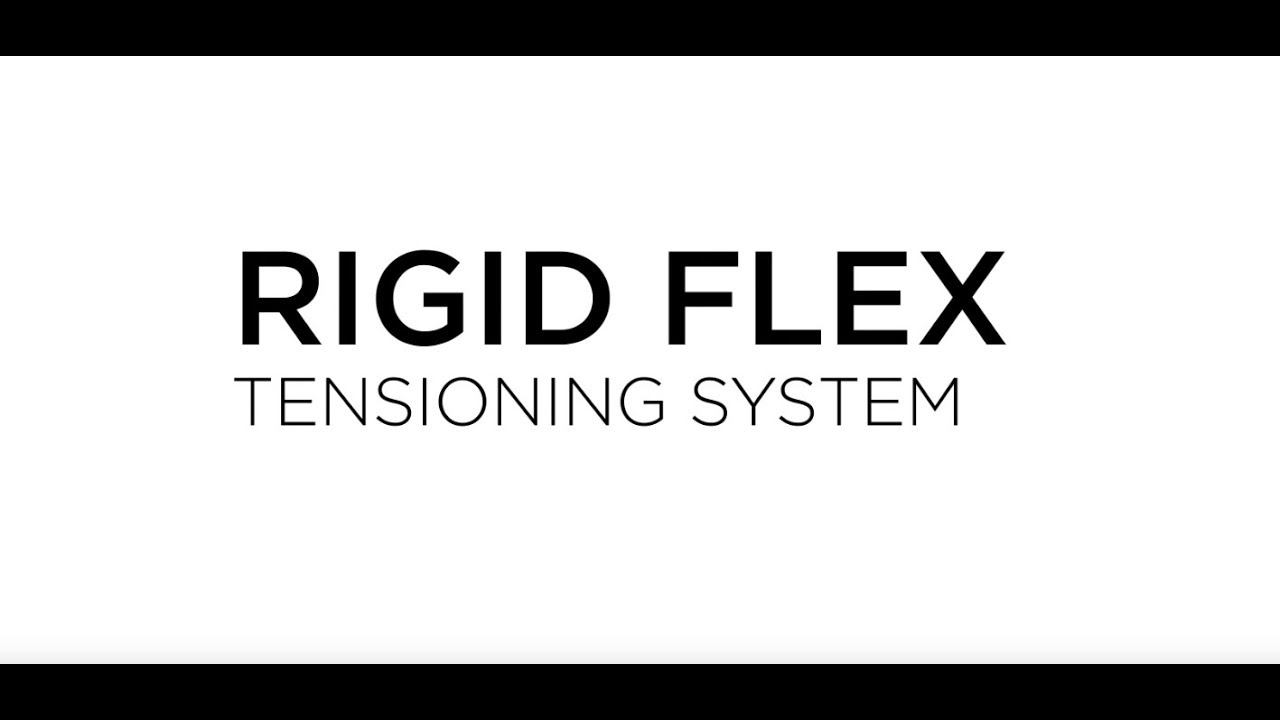 using rigid flex hardware to install large banners