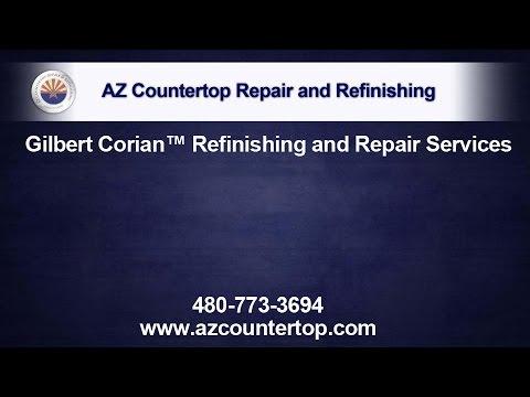 Gilbert Corian Refinishing and Repair Services